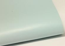 Кожа гладкая на фетре Светло-голубая, 20х30 см (+-1 см)