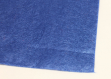 Фетр мягкий, 1 мм, 20х30 см, Синий