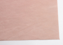 Замша искусственная двусторонняя, А4, пепельно-розовая
