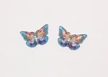 Кабошон Бабочка Голубая, 23х16 мм