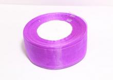 Органза Фиолетовая, 4 см