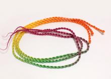 Африканские косички поштучно Разноцветные, 1 шт