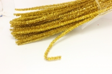 Проволока синельная золото, 30 см