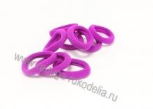 Резинка бесшовная 3 см, фиолетовая-34