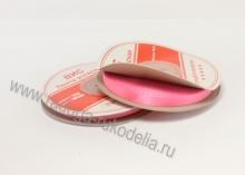 Лента атласная, 6 мм. розовая В-039 (боб. 27м)