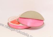 Лента атласная, 12 мм. розовая В-039