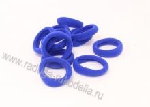 Резинка бесшовная 3 см, синяя № 24