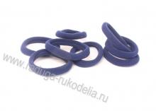 Резинка бесшовная 4,5 см, темно-синяя 22