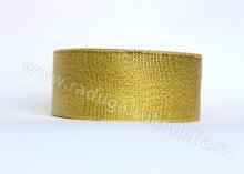 Парча. Цвет золото, 40 мм