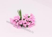Букетик тычинок (12 шт). Бледно-розовые
