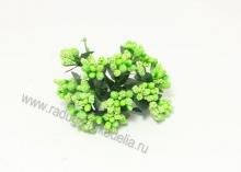 Букетик тычинок с сахарными вставками (12 шт). Зеленые