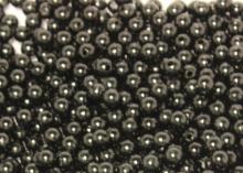 Бусины пластиковые Черные 8 мм (35-40 шт)