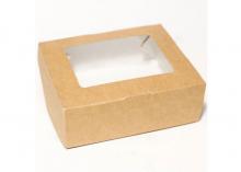 Коробка Крафт (внутри белая ламинация), 100х80х35 мм