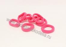 Резинка бесшовная 3 см, ярко-розовая № 3